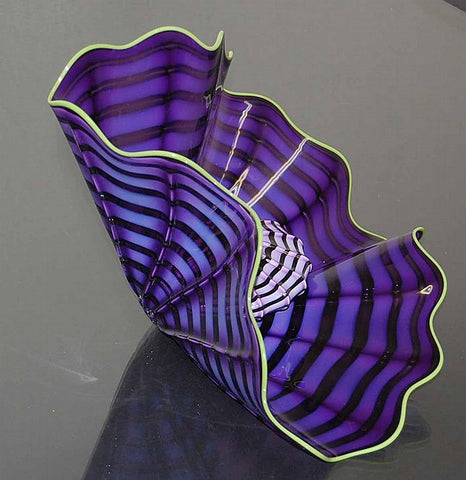Dale Chihuly (American, b. 1941), Imperial Iris Persian Set, 2000, hand blown glass, signed, Portland Press Ed.