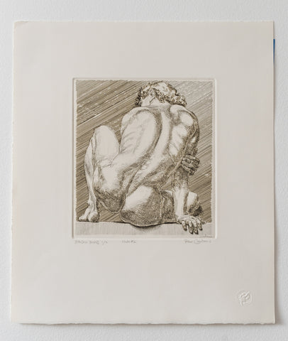 "Paul Cadmus (American, 1904-1999) ""Nudo #2"" (First State of 2), printed 1984, signed and numbered, unframed"