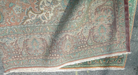 North West Persian Tabriz Carpet, wool on cotton foundation, 10 ft. x 13 ft.