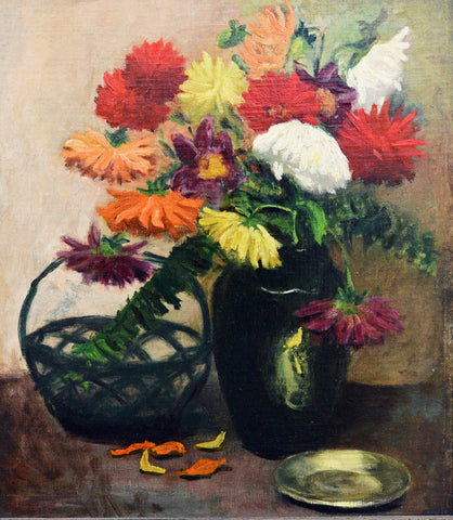 Pierre Laprade (French, 1875-1931) Floral Still Life, oil on canvas, signed