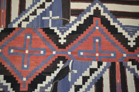 Attributed to a Navajo Ganado Weaver, Regional Revival Ganado Rug, 3rd quarter 20th century