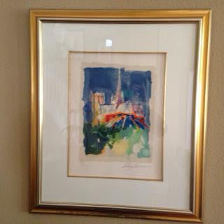 "LeRoy Neiman (American, 1927-2012), ""Notre Dame"", 1994, from The Paris Suite, screenprint, signed and numbered"