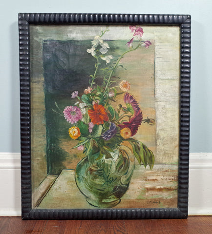 Frederic Taubes (American, 1900-1981), Floral Still Life, signed