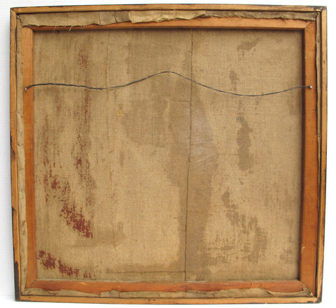 Attributed to Beatrice Mandelman (American, 1912-1998), Untitled, mixed media on canvas, ca. 1960s