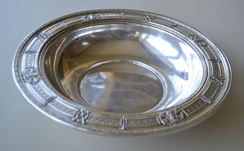 American Silver Bowl, International Silver Co., Meriden, CT, 20th century