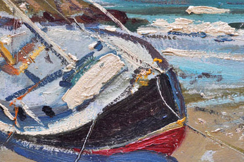 Wayne Morrell (American, 1923-2013), Rockport, Mass., 1978, oil on board, signed and dated