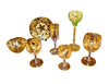 Group of Continental Gilt Glassware