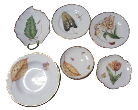 Partial Set of Hand Painted Hungarian China