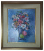 René Margotton (French, 1915-2009), Bouquet aux Deux Fruits, oil on canvas, signed