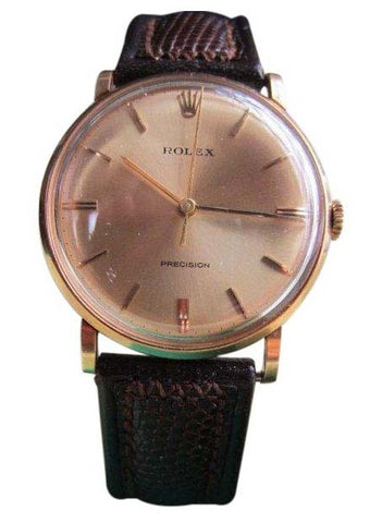 Gentleman's 18K Gold Wristwatch