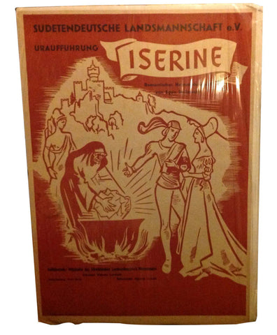"German Theater Poster for ""Iserine"""