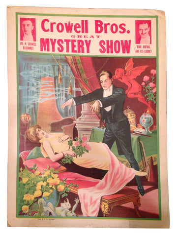 Crowell Bros. Great Mystery Show Poster