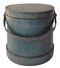 Painted Firkin with Lid