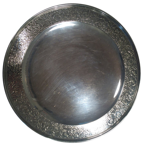 Tiffany & Co. American Silver Footed Plate