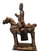 Chinese Pottery Funerary Model of a Horse & Ride
