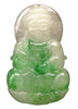 Chinese Jadeite Carving of Kuan Yin Pendant