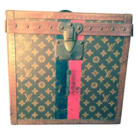 Louis Vuitton Monogram Leather Hat Trunk
