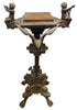 Continental Carved Oak Lectern