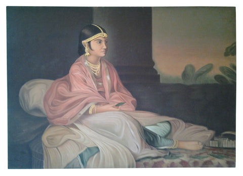 An Indian Embellished Painting