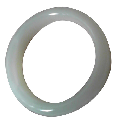 Chinese Carved Jadeite Bangle