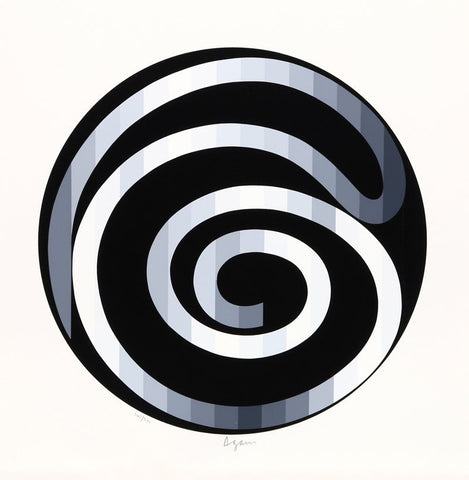 "Yaacov Agam (Israeli, b. 1928) ""Infinity"", screenprint in colors, signed and numbered 107/180"