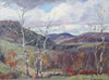 Emile Gruppé (American, 1896-1978), Fall in Vermont, oil on canvas, signed, 20th century