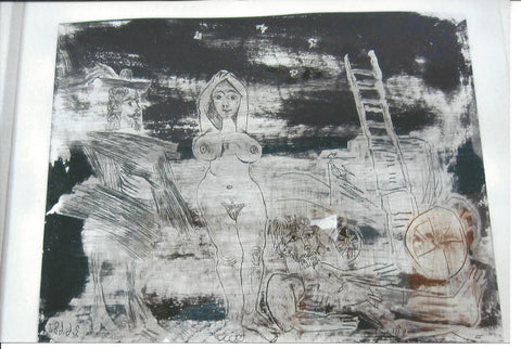 Pablo Picasso (Spanish, 1881-1973), Complications Après L'enlèvement, Plate 139 from Series 347, etching with aquatint, 1968