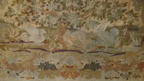 Continental Needlepoint Tapestry, late 19th century