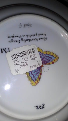 Partial Set of Hand Painted Hungarian China, made by Anna Weatherly Designs, late 20th century