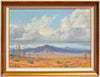 James A. Fetherolf (American, 1925-1994), Desert Scene, oil on canvas, signed, mid-20th century