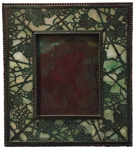 "Tiffany Studios ""Grapevine"" Pattern Picture Frame, New York, ca. 1900s"