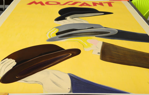 "Leonetto Cappiello (French, 1875-1942), ""Mossant"", 1938, lithographic poster in colors"