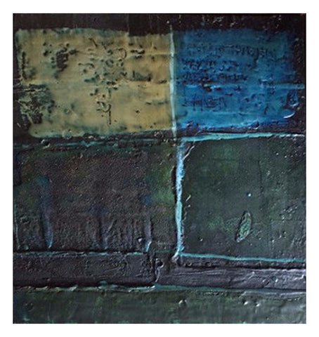 John Richard (Jack) Reppen (Canadian, 1933-1964), Abstract (Untitled), 1963, mixed media