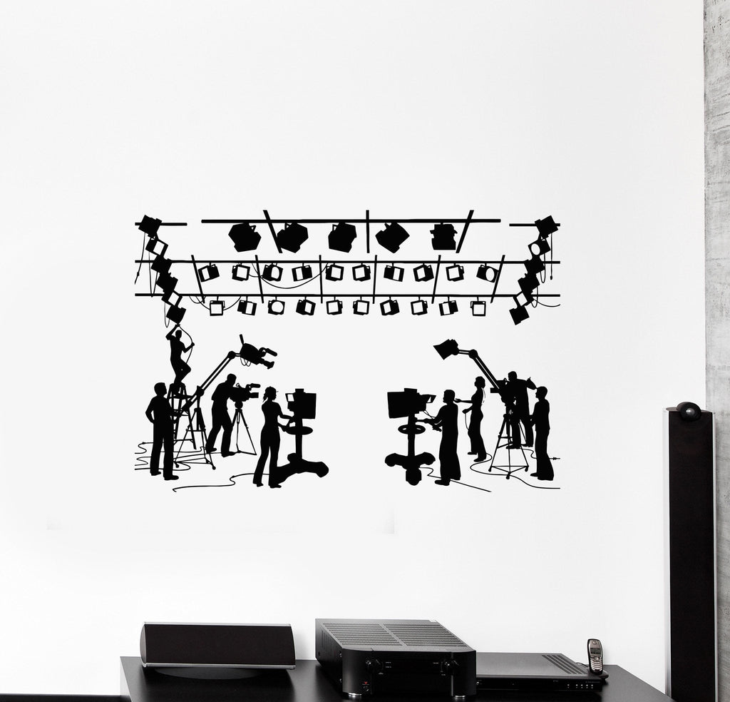 Vinyl Decal Cinema Movie Theatre Director Filming Wall Stickers Unique Gift (010ig)