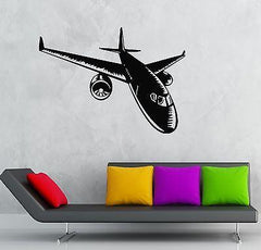 Wall Stickers Vinyl Decal Aircraft Aviation Airliner Cool Decor Unique Gift (ig843)