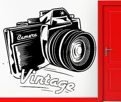 Wall Sticker Vinyl Decal Vintage Camera Photo Memory Cool Decor Unique Gift (z2450)