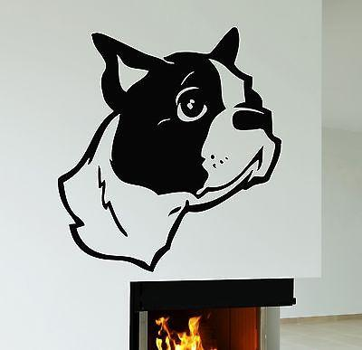 Wall Stickers Cute Puppy Dog Animal Pets Kids Room Vinyl Decal Unique Gift (ig544)