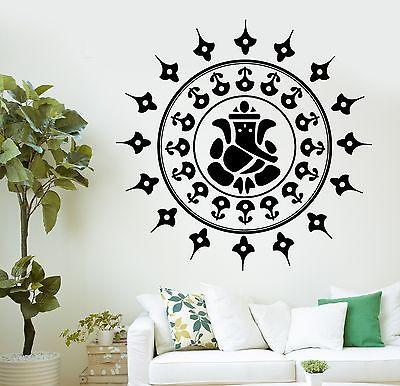 Wall Decal Buddha Ganesha Hinduism Gods Vinyl Sticker Unique Gift (z2880)