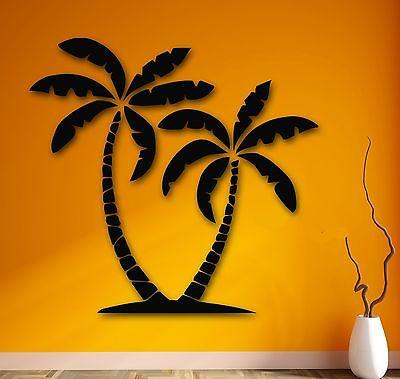Wall Stickers Vinyl Decal Palm Desert Mirage Tropical Relax Decor Unique Gift (ig798)