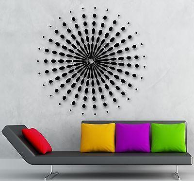 Wall Stickers Vinyl Decal Mandala Buddhist Amulet Decor for Room (ig951)