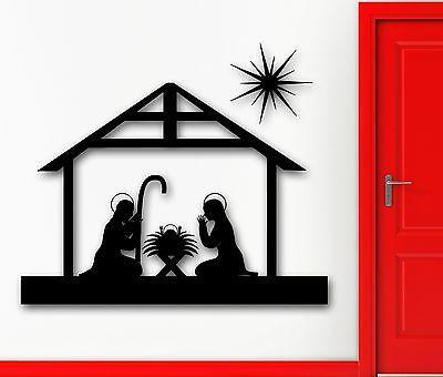 Wall Sticker Vinyl Decal Jesus Christ The Bible Christian Christmas Unique Gift (ig1935)