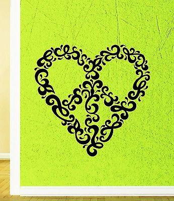 Wall Sticker Vinyl Decal Romantic Love Heart Cool Positive Decor (ig1893)