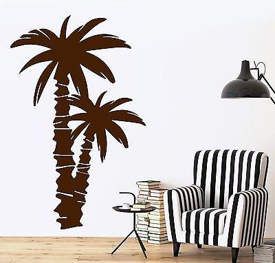 Wall Decal Palm Coconut Tree Branch Nature Vinyl Sticker Unique Gift (z3625)