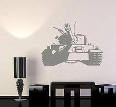 Wall Vinyl Tank Military Forces War Guaranteed Quality Decal Unique Gift (z3432)