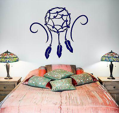 Wall Decal Dreamcatcher Dream Catcher Talisman Native American Unique Gift (z2790)
