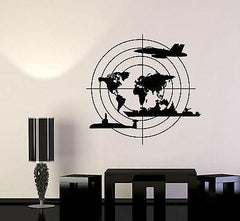 Wall Vinyl Warship Submarine Aircraft Guaranteed Quality Decal Unique Gift (z3439)