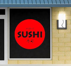 Restaurant Japanese Food Business Sushi Store Wall Art Vinyl Sticker Unique Gift (z633)