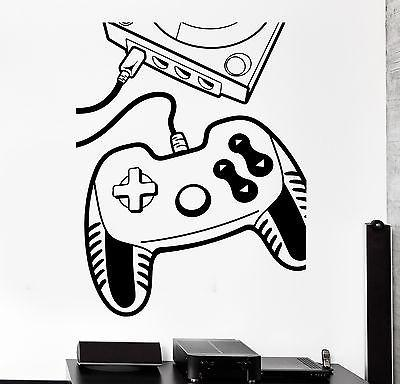 Wall Sticker Gaming Gamepad Console Gamer Joypad Vinyl Decal Unique Gift (z3094)