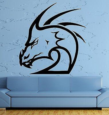 Wall Decal Dragon Myth Movie Fantasy Monster Cool Decor Interior Unique Gift (z2699)
