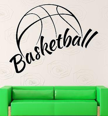 Wall Sticker Vinyl Decal NBA Basketball Ball Cool Decor Sports Fans (ig2130)